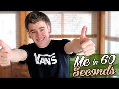 ~Just to quickly introduce him to you and make sure u got da right guy! ;) <3 ~ ~~~~~~~~~~~~~~~~~~~~~~~~~~~~~~~~~~~~~~~~~~~~~~~~~~~~~~~~~~~~~~~~ Heres my in 60 Seconds! This is me, take it or leave it :) -NEW Merch: http://www.districtlines.com/ConnorFranta -Follow me on Twitter: http://twitter.com/ConnorFranta -Follow me on Instagram: http://www.statigr.am/ConnorFranta ________________________________________­________  Main Channel: http://www.youtube.com/ConnorFranta 2nd Channel: http...