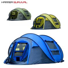 Would you like to go camping? If you would, you may be interested in turning your next camping adventure into a camping vacation. Camping vacations are fun Pop Up Camping Tent, Best Tents For Camping, Cool Tents, Pop Up Tent, Camping Gear, Camping Hacks, Outdoor Camping, Outdoor Gear, Campsite