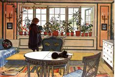 Carl Larsson's Inspirational Interiors - The Decorologist