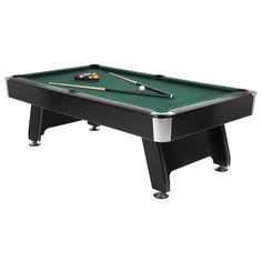 Contemporary basement with a brand new pool table for Really cheap pools