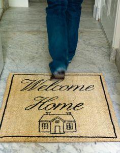 Dat is duidelijke taal. Welkom thuis! Want je weet, waar je hart is, ben je thuis (Home is where the heart is)