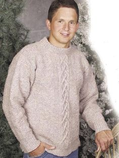 d36c11f84946 Diamonds  amp  Cable Pullover Knitting Pattern Men s sweater free knitting  pattern Jumper Knitting Pattern
