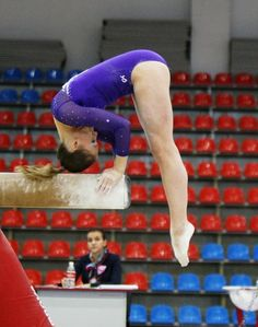 Ksenia Afanasyeva (Russia) on balance beam at the 2013 Russian Championships