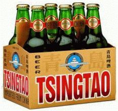 Tsingtao Chinese lager - a must for any Chinese New Year parties