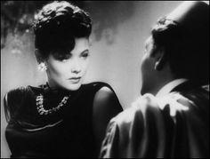 Gene Tierney and Victor Mature in The Shanghai Gesture (1941), directed by Josef von Sternberg
