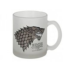"""Game Of Thrones - Stark """"Winter Is Coming"""" Crystal Mug  Manufacturer: SDToys Barcode: 8436541021556 Enarxis Code: 017596 #toys #mug #Game_of_Thrones #Stark #tvseries"""