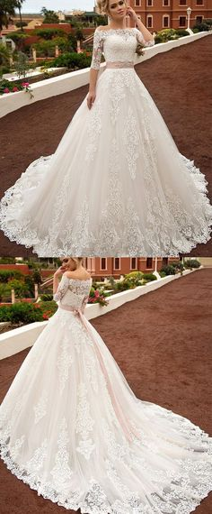 White wedding dress. All brides dream of having the perfect wedding day, however for this they need the best wedding gown, with the bridesmaid's dresses enhancing the wedding brides dress. Here are a number of suggestions on wedding dresses.