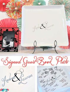 For Foodies | 12 Honestly Brilliant Wedding Guestbook Ideas