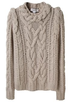Pringle of Scotland - Rope Cable Sweater