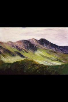 Susan mulcock amazing landscapes in felt Fabric Painting, Fabric Art, Felt Wall Hanging, Felt Pictures, Needle Felting Tutorials, Felt Embroidery, Wool Art, Landscape Quilts, Nuno Felting