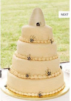 Bee Hy Rustic Wedding Cakesrustic