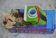 Kindergeburtstag - upcycling im Machwerk