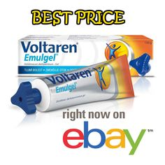 150g Voltaren Emulgel 1% Back Pain Relief Gel Muscle and Joints #Voltaren