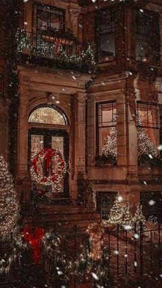 Christmas Scenes, Christmas Mood, Christmas Ideas, Christmas Christmas, Magical Christmas, Antique Christmas, Country Christmas, Christmas Crafts, Illustration Noel