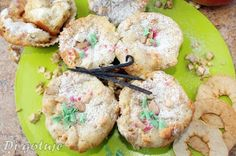 Di gotuje: Muffiny z suszonymi jabłkami nadziewane twarożkiem...