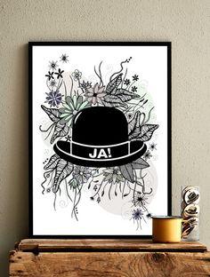 Flower Hat / Color – Kasia Lilja