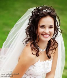 Beautiful Styles of Wedding Hairstyles With Veils And Tiaras ...