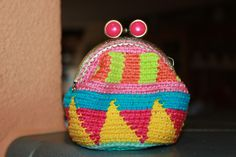 Handmade by Alpenkatzen All Craft, Coin Purse, Diy Crafts, Wallet, Purses, My Love, How To Make, Handmade, Little Miss