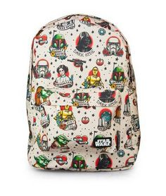 f2ebb10bc58c Vintage style Star Wars Backpack Star Wars Love
