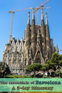 3-day itinerary presented by locals with all the must-see attractions of Barcelona, Spain