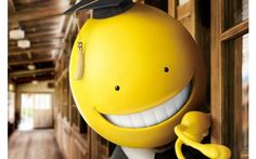 Assassination Classroom live action film announced. Koro-sensei!