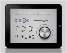User Interface Elements #ui #webdesign #design #designer #inspiration #web #ui #userinterface #interface #user #download #free #downloads