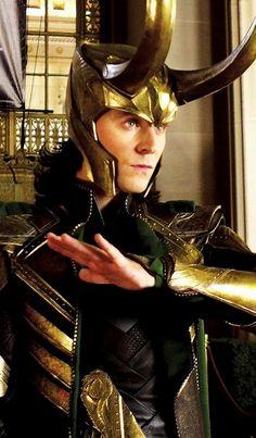 "Tom Hiddleston ""Loki"" From http://dailyloki.tumblr.com/post/104868359358 Paintshopping by me"