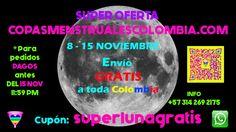 Oferta Copa Menstrual Cupon SUPERLUNA 8-15 noviembre
