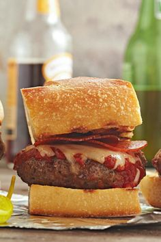 Take backyard burgers from monotonous to memorable with these next-level grilled burger recipes. When you've had your fill of the usual beef burgers from the grill, try our recipes for grilled chicken burgers, turkey burgers, veggie burgers, and sliders, too. #grillingtips #summergrilling #burgerrecipe #bestburgerrecipe #grillinghacks #bhg Grilled Chicken Burgers, Grilled Burger Recipes, Best Burger Recipe, Turkey Burgers, Veggie Burgers, Grilled Chicken Recipes, Backyard Burger, Grilling Tips, Good Burger