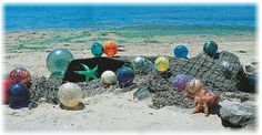 Seriously the coolest event ever!!  Oregon places over 2000 of these hand blown glass balls on their coastal waters and anyone can find one!  Each ball has a number branded into it, you call the dedicated hot line number and they mail you a certificate of authenticity and information about the artists that crafted your float