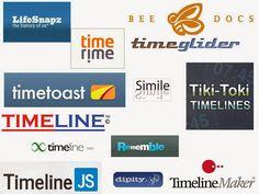 Las TIC y su utilización en la educación : 20 Herramientas Para Crear Líneas De Tiempo