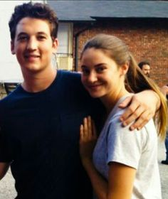 Miles Teller and Shailene Woodley for The Spectacular Now Hunger Games, Shailene Woodly, The Spectacular Now, Miles Teller, Sherlock Cast, Theo James, The Fault In Our Stars, Celebs, Celebrities