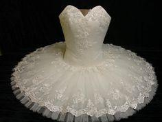 Aurora's Wedding tutu www.theworlddances.com/ #costumes #tutu #dance