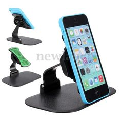Cellphones & Telecommunications Mobile Phone Holders & Stands Brave 1pcs Universal Car Phone Holder 360 Degree Flexible Dashboard Windshield Gps Mount Desk Table Cell Mobile Phone Holder Stand