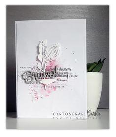 Les nouveaux produits exclusifs sont à l'honneur sur le blog Cartoscrap. Admirez-les scrapés par l'équipe créative selon le style de chacune :)