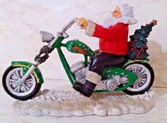 Have A Holly Chopper Christmas From The Rebel Without A Claus Collection - #1192