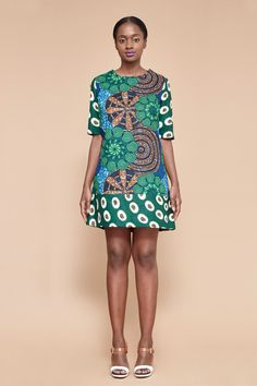 Nana Shift Dress by BERIQISU on Etsy https://www.etsy.com/listing/229763129/nana-shift-dress