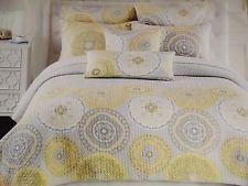 cynthia rowley gray teal 8pc queen comforter shams sheets bedding