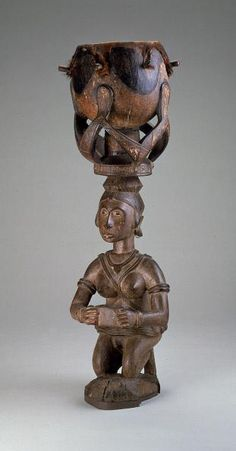 National Museum of African Art / Baga Drum Baga Drum African Paintings, African Artists, African Drum, Contemporary African Art, African Sculptures, Art Thou, Historical Art, African Masks, Indigenous Art