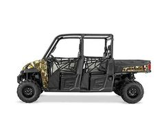 New 2016 Polaris Ranger Crew® XP 900-6 EPS Camo ATVs For Sale in North Carolina. Off-road capability for the entire crew Powerful 68 hp ProStar® HO engine features 13% more power Refined cab comfort and convenience for 6, including industry exclusive Pro-Fit integration Dimensions: - Wheelbase: 113 in. (287 cm)