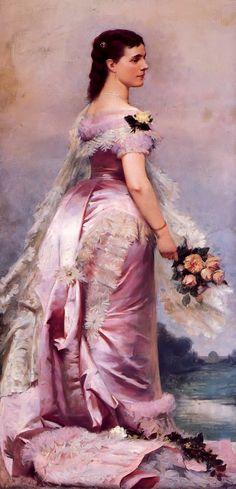 Queen Marie Henriette by Louis Gaillat