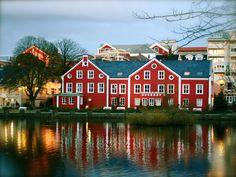 Stavanger Sentrum, Norway. (Stavanger city center)