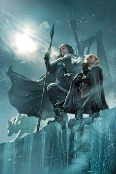 Jon Nieve y Tyrion se cogieron mucho cariño cuando empezaron a conocerse el uno al otro. Ambos han sido la oveja negra de su familia y han tenido una carencia de amor, cariño y comprensión desde niños: uno por nacer con enanismo, el otro por ser bastardo.