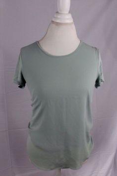 Ann Taylor Loft Womens Short Sleeve Shirt size XS Top Light Green Shirt Cute!    #AnnTaylorLOFT #Blouse