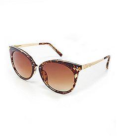 Jessica Simpson Metal Temple Cateye Sunglasses #Dillards