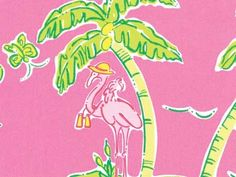Lilly Pulitzer: Fun Loving Flamingos