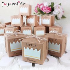 Dedicated 10pcs Blue/pink Crown Prince Princess Name Number Table Place Card Holder Wedding Party Favor Choice Materials Festive & Party Supplies