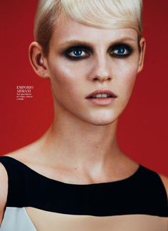 Harper's Bazaar Spain February 2013  Model: Ginta Lapina