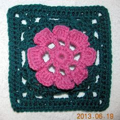 """Ravelry: Project Gallery for Garden Trellis 6"""" Granny Square pattern by Shelley Husband"""