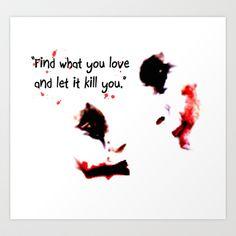 Joker Harley Quinn Love Quote digital Art Print by Justin 13 Art - $17.68